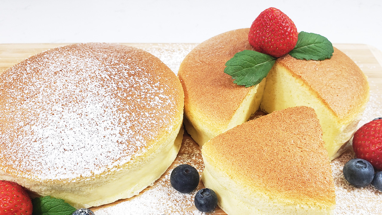 Super Fluffy and Soft Ogura Cake – Street Food Recipe
